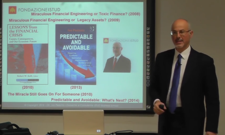 Testimonianza di Ivo Pezzuto all'Executive Development Programme