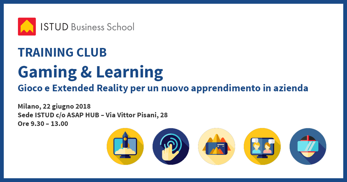 banner training club gaming e learning ISTUD