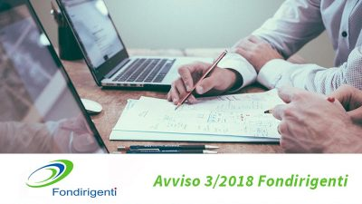 Fondirigenti avviso 3 2018