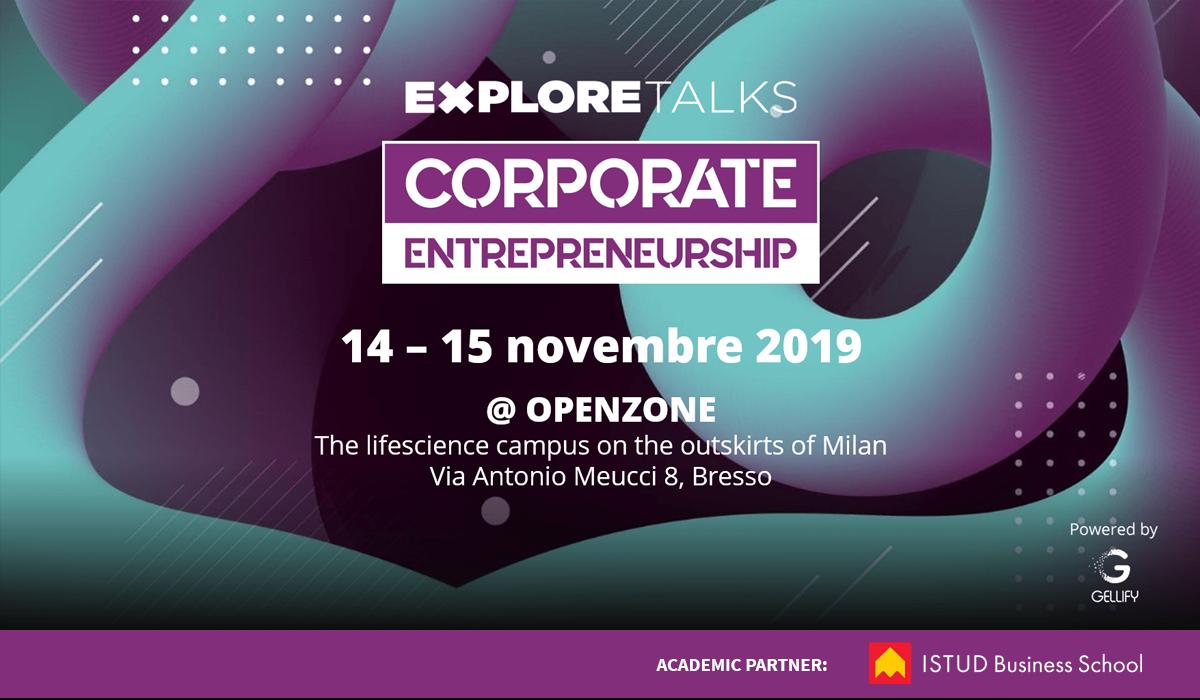 Evento Corporate Entrepreneurship GELLIFY