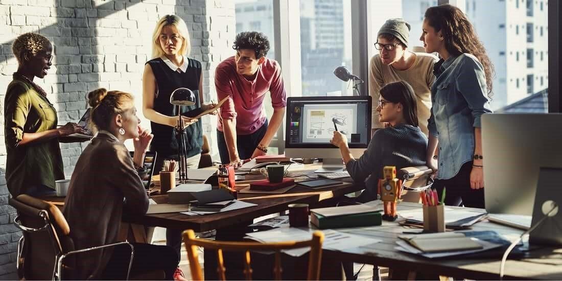 smart office gruppo di lavoro
