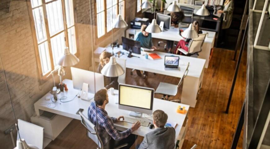 smart office open space