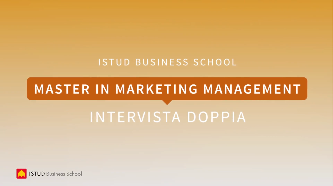 video master in marketing istud intervista doppia
