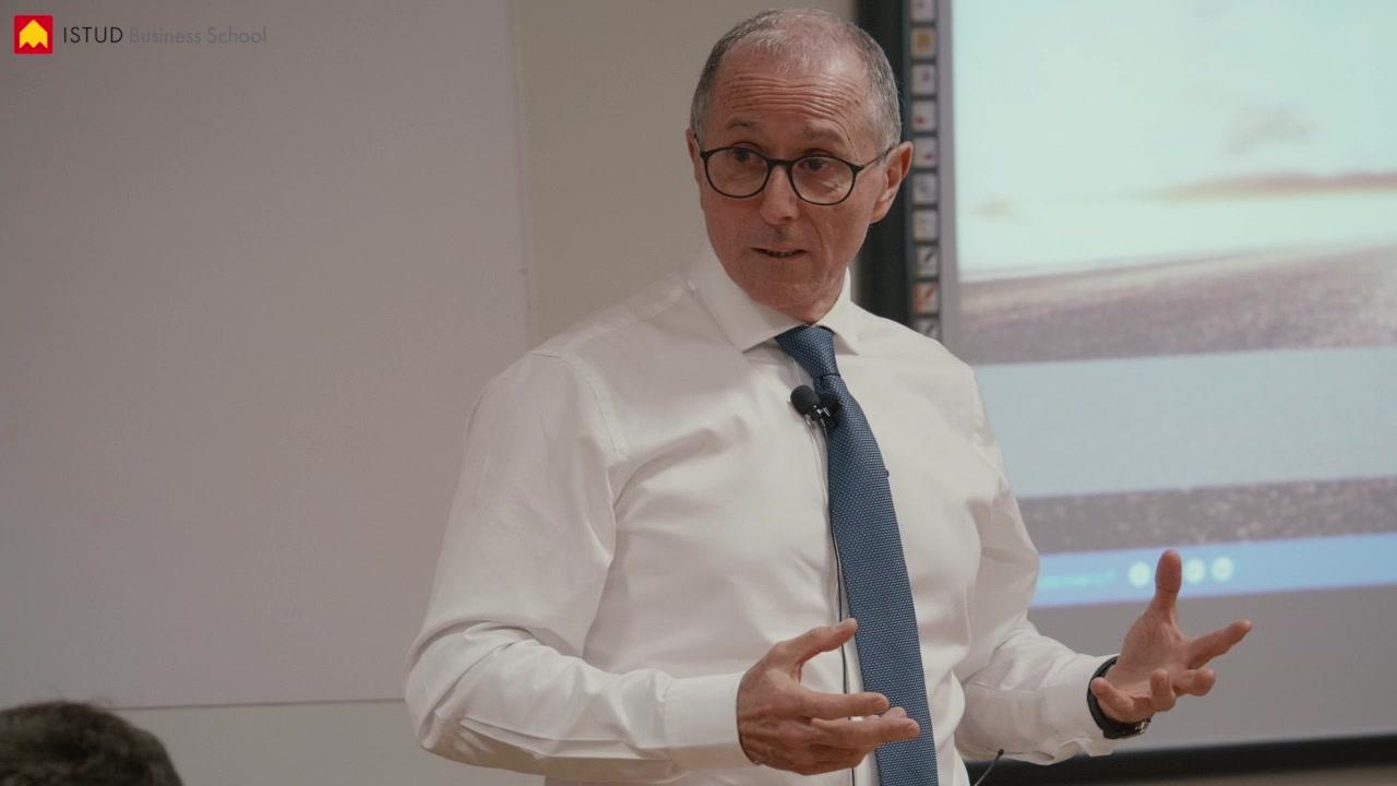 Mario Paterlini CEO Gruppo Sapio testimone ai Master ISTUD