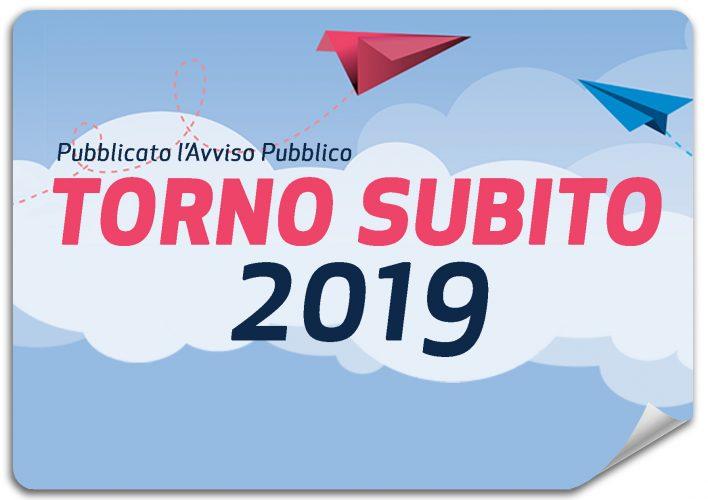 Bando Torno subito 2019 Regione Lazio