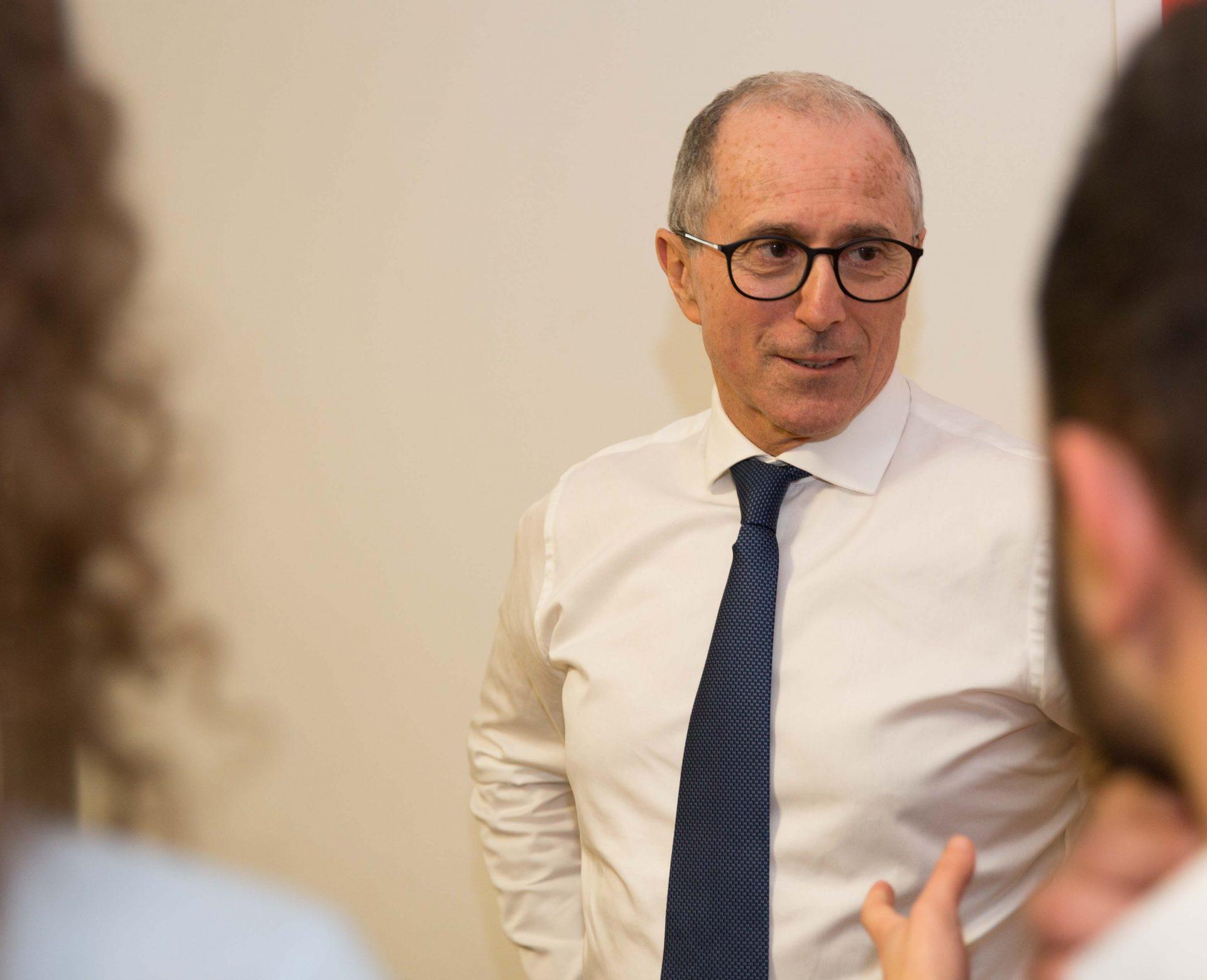 Intervista a Mario Paterlini CEO Gruppo Sapio ai Master ISTUD