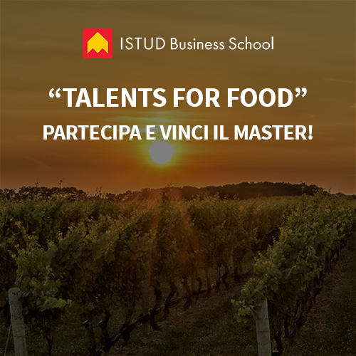 borse di studio talents for food master istud palermo