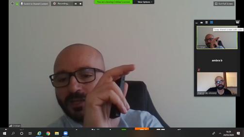 Cristian Paonessa - Nielsen - tiene una lezione online ai Master ISTUD