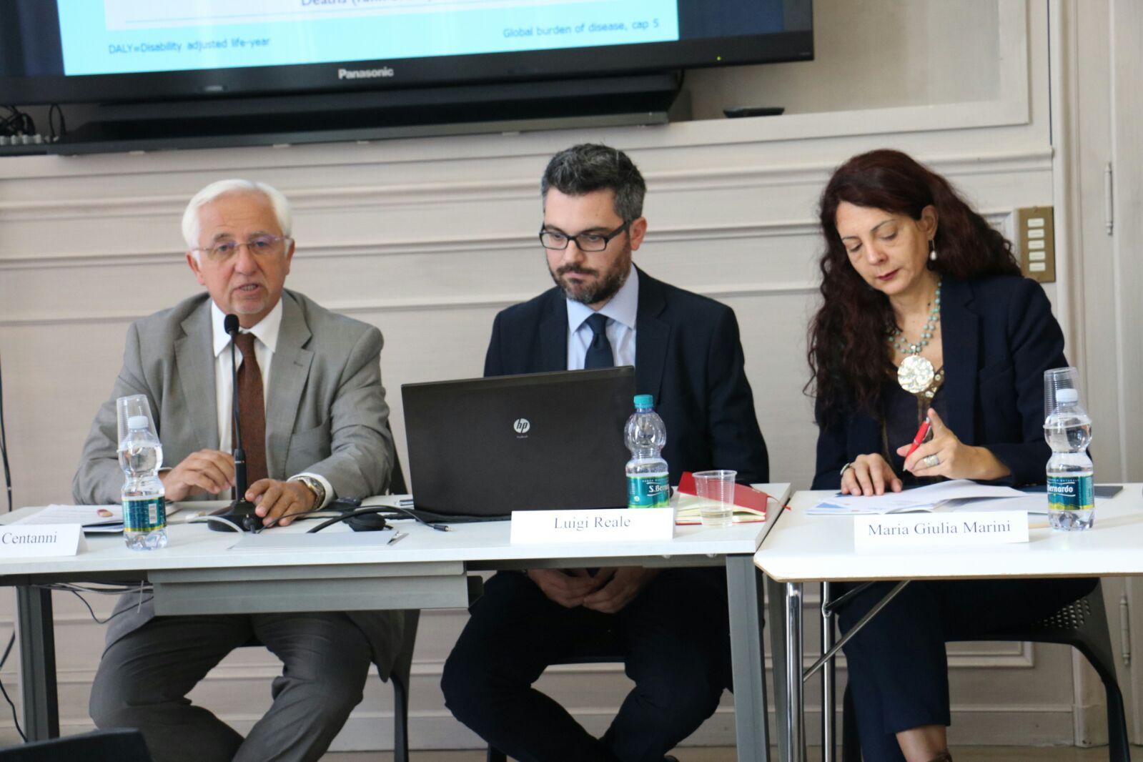 Conferenza stampa progetto FARO