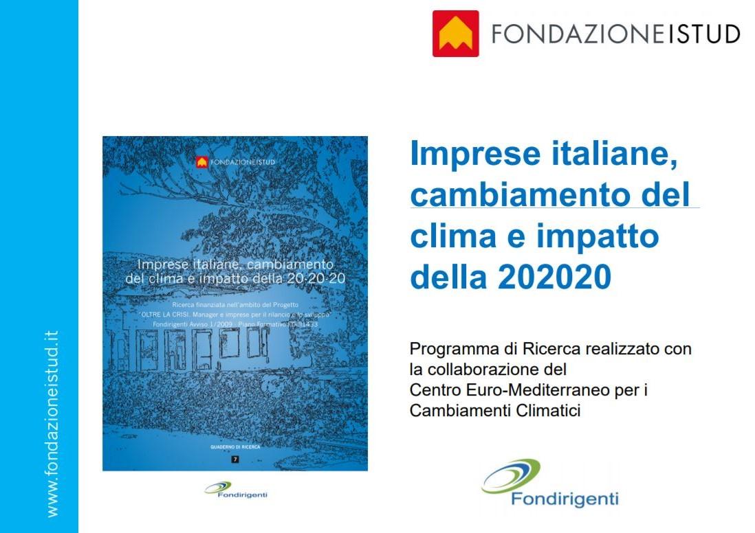 Imprese italiane e cambiamento