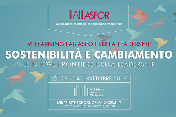 Learning Lab ASFOR 2016