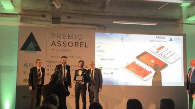 """Premio ASSOREL come miglior mobile APP a """"ColorE"""""""