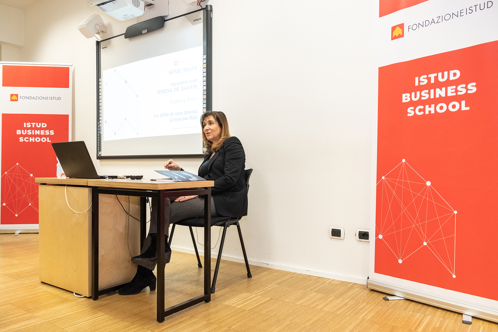 Teresa De Santis Direttore Rai in istud business school